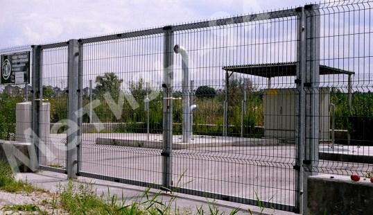 ворота с полимерным покрытием