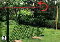 инструкция как установить забор из сварной сетки