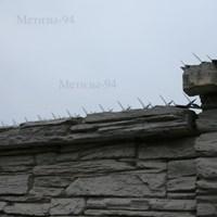 Накладка Їжачок на бетонних парканах та конструкціях