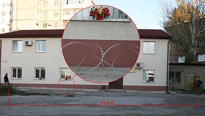 Егоза Казачка 450/3 (в бухте 86 витков) растянута на 21,5 метров