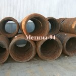 Метизы-94 поставляет катанку 6,5 мм в бухтах