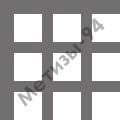 перфорированный лист с квадратными отверстиями 10х10 мм