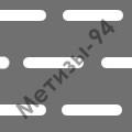 перфорированный лист с прямоугольными отверстиями со скругленными торцами