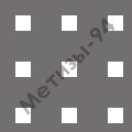 перфорированный лист с квадратными отверстиями 5х5 мм