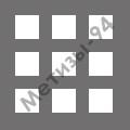 перфорированный лист с квадратными отверстиями 8х8 мм