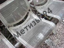 Перфорированный лист в производстве мебели