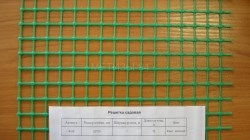 Садовая пластиковая решетка 20 мм