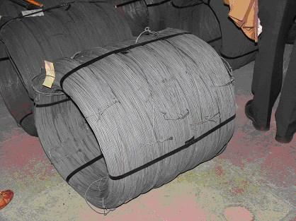 Проволока для производства сетки Рабица в