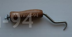 изогнутый ручной инструмент с крючком для увязки проволоки