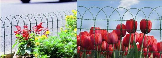 декоративна сітка, декоративна металева сітка, садова сітка, сітка для огородження клумб і квітників
