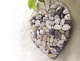 Сердце из шестигранной сетки