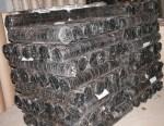 Рулоны крученой сетки на складе