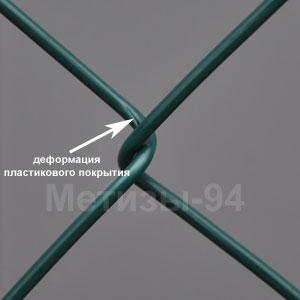 Сетка Рабица с полимерным покрытием эконом класса