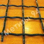 Канилированная сетка сетка с полимерным покрытием (покрыта порошковой краской)