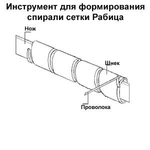 Станок для производства сетки рабицы своими руками
