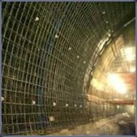 Сетка затяжка для крепления шахтной крепи