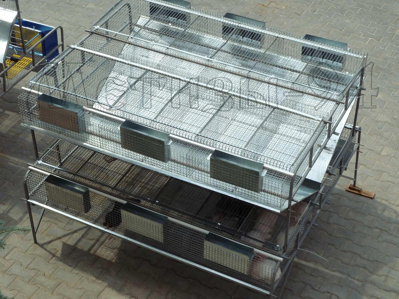маточная клетка для кроликов из сетки