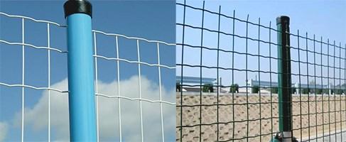 Забор из сетки Euro Fence с ПВХ покрытием