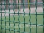 Забор из сетки канилированной покрытый краской