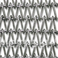 спирально-стержневая транспортерная сетка