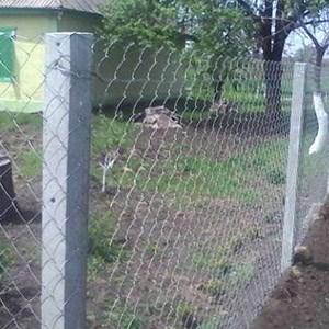 Заборные бетонные столбы