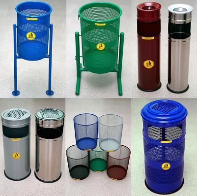 урны и корзины для мусора