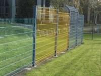 Забор для дачи из сварной сетки