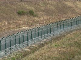 Забор с проволочных панелей Betafence