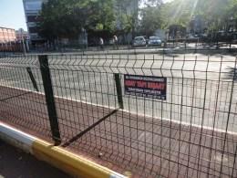 Забор из сварной сетки в районе Босфора. В Украине их поставляет ЧП Метизы-94