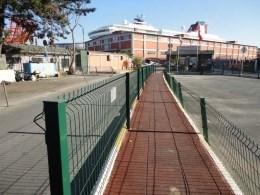 Забор секционный с ребрами жескости аналогичній забору Казачка в Турции