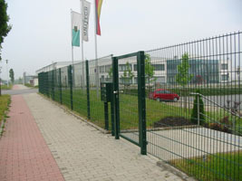 Забор из проволочных панелей, аналогичных забору Казачка