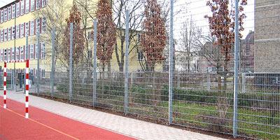 Высокий забор из проволочных панелей (аналог забора Казачка)