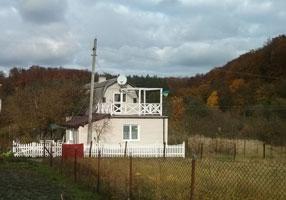 Пластиковй штакетный забор в Рокитне, Яворовского р-на Львовской обл.