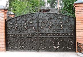 кованый забор, фото