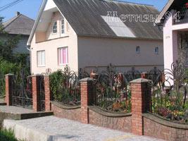 Кованный забор для ограждения территории и защиты вашего дома