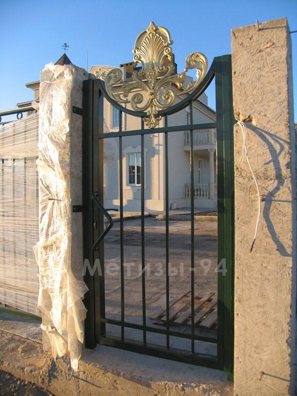 калитка кованый забор штамповка ковка