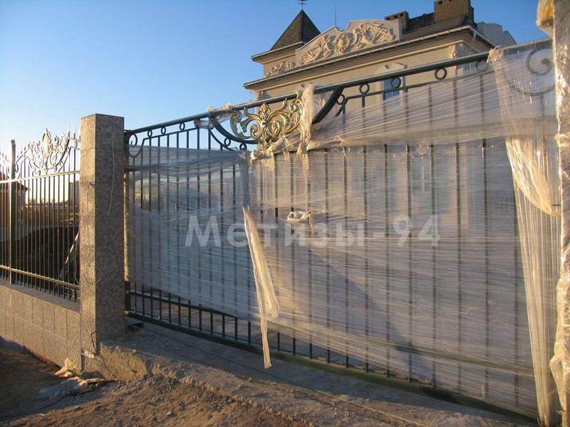 кованый забор дворцовый цена