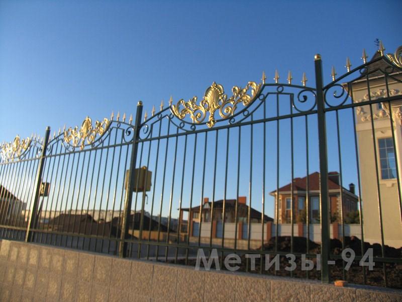 металлический забор, штамповка, цена