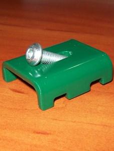 Крепеж для заборов из сварной сетки Казачка-Стандарт