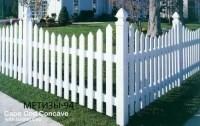 Декоративный забор из ПВХ