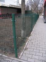 забор Betafence возле ВТБ Банка