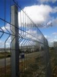 установленные заборы металлические
