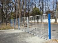 Забор Казачка в Житомире, ул.Коростышевская, 1а,автосалон Фольксваген