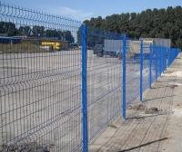 Огражденная забором ТМ Класик площадка