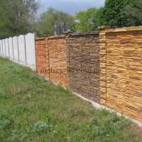 Наборні бетонні паркан
