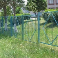 забор из металлических карт