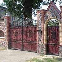 Ковані паркани