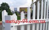 Штакетный забор - цена в прайсе