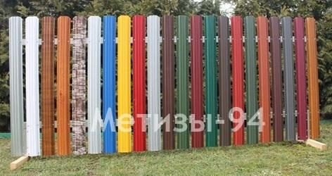 Забор штакетный штакетник