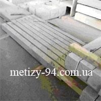 Стовпи бетонні для огорожі